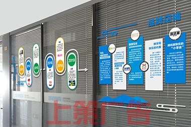 烟台企业文化长廊设计