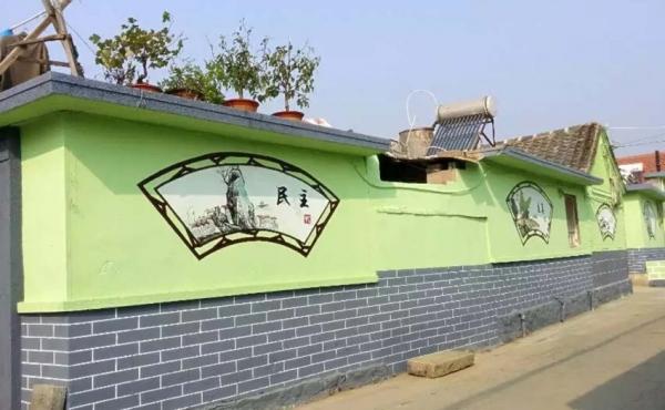 泊子乡村文明建设
