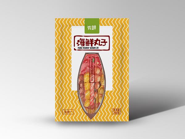 烟台包装袋设计--有鲜食品