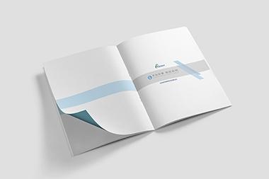 烟台品牌画册设计--蓝岳科技画册