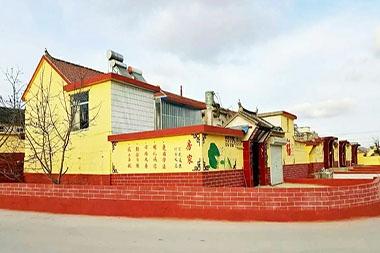 房家乡村文明建设