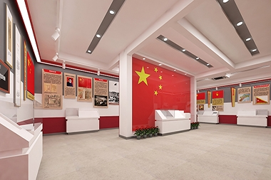 烟台红色文化设计--红旗教育馆